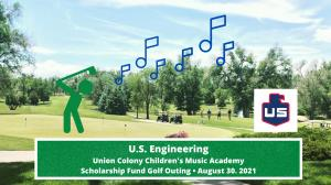 UCCMA Golf Tournament Graphic, picture of the greeley country club putting green